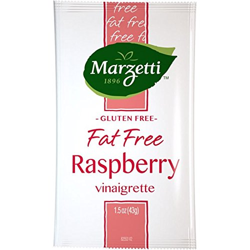 Marzetti Fat Free Raspberry Vinaigrette Salad Dressing, 1.5oz (pack of 60)