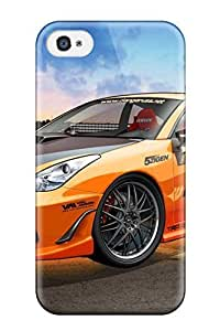 Anti-scratch And Shatterproof Toyota Celica 3 Phone Case For Iphone 4/4s/ High Quality Tpu Case