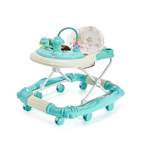 JINGMEI Andadores para Bebés Andador Plegable Ajustable ...
