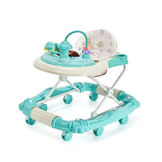 JINGMEI Andadores para Bebés Andador Plegable Ajustable Antivuelco ...