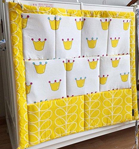 Hengsong Kinderzimmer Mehrschichtige Beutel Organizer Baby Bett