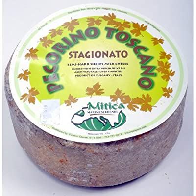Pecorino Toscano Sheep Cheese (1 lb) from For The Gourmet