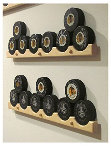 Hockey Puck Display Case Holder / Rack (6) ()
