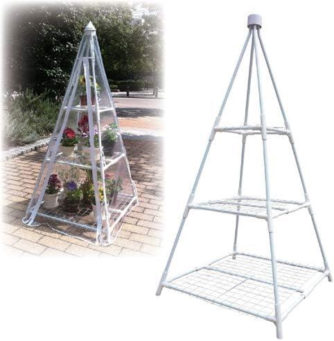 (11個まとめ売り) マルハチ産業 簡易温室 ピラミッド 809930