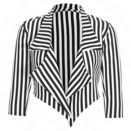 White Stripes Blackamp; GenericGiacca Donna Blazer QrhdtsCx