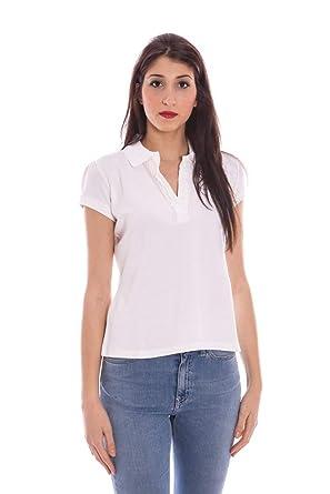 Gant 1201.403200 Polo con Las Mangas Cortas Mujer Blanco 110 L ...