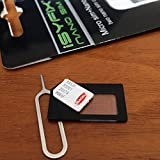 SIM Card Adapter Nano Micro - Standard by iSYFIX 4 in 1 Converter Kit With Steel Tray Eject Pin