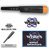 White's TRX Bullseye Waterproof Pin-Pointer with Holster and Iron-On Patch - 800-0343
