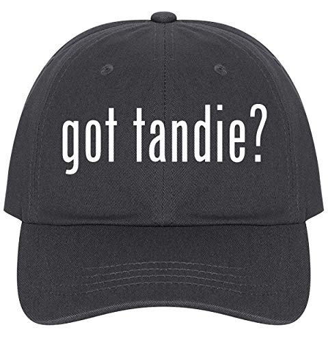 (The Town Butler got Tandie? - A Nice Comfortable Adjustable Dad Hat Cap, Dark Grey)