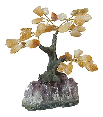 Citirine Gemstone Tree - S - 3