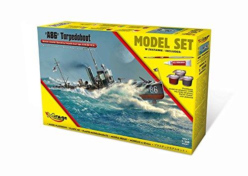 Mirage Hobby 845091-Modèle Kit A86German Torpilleur