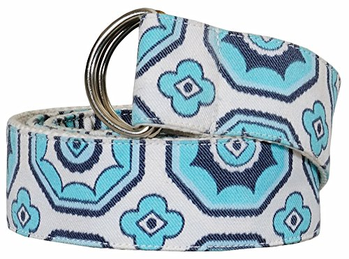 Equine Couture Kelsey Belt Aqua Size Large (Equine Couture Kelsey)