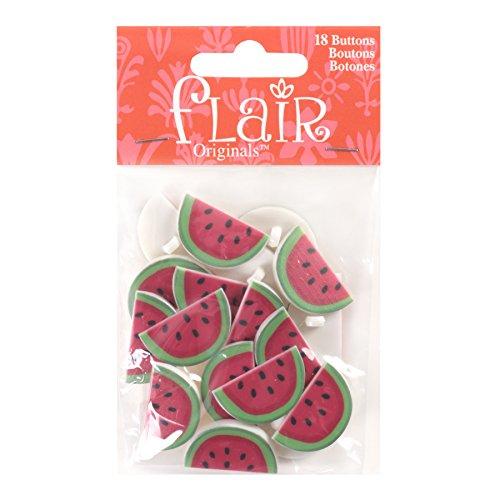 (Blumenthal Lansing Company Watermelon Buttons 18 Piece)