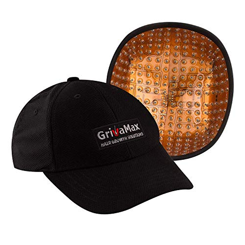 Laser Cap GrivaMax 272 Pro7 FDA Cleared Hat for Hair Regrowth Medical Treatment Alopecia - Promotion Therapy Follicles of Thin Hair Loss for Men and Women with Balding LLLT 650nm Portable Laser Helmet