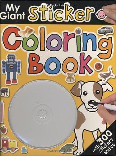 My Giant Sticker Coloring Book: Amazon.de: Priddy Books ...
