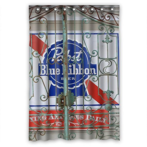 pabst-blue-ribbon-durable-fabric-shower-curtain-measure-48wx72h