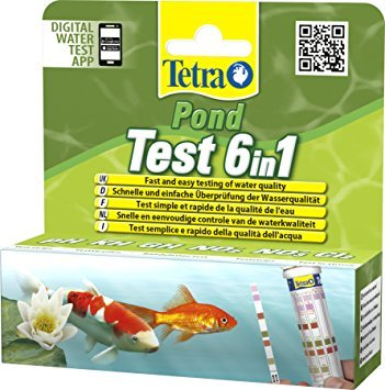 Tetra Pond 6IN1 Water Test - Fast And easy water testing Germany