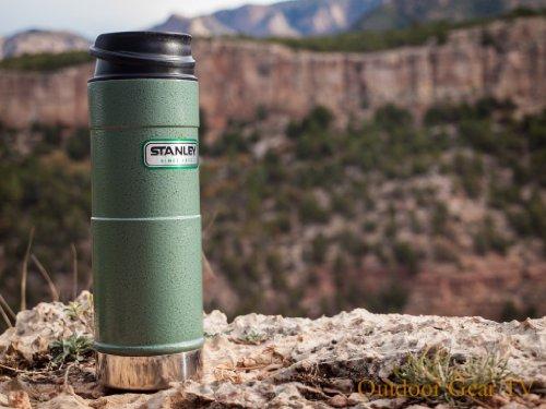 New Stanley Stainless Steel 16 oz. One Handed Stainless Steel Vacuum Mug - Lifetime Warranty BPA Free