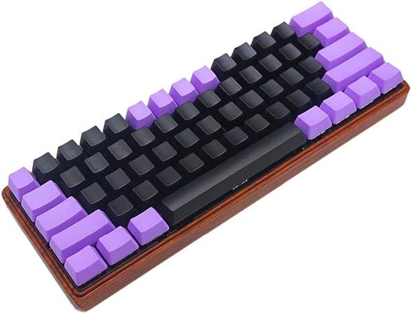 YMDK teclado personalizado 61 ANSI perfil OEM grueso PBT KEYCAP adecuado para Cherry MX interruptores mecánico Gaming Keyboard GK61 (sólo KEYCAP) ...