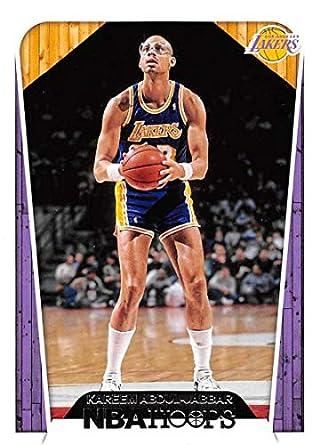 d1de8fea842 2018-19 Panini Hoops  297 Kareem Abdul-Jabbar Tribute Los Angeles Lakers NBA
