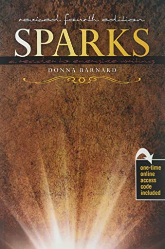 Sparks: A Reader to Energize Writing