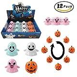 Toys : Halloween Goody Bag Wind Up Pumpkins & Ghosts 12 Pack, Wind Up Toys Halloween Party Favors