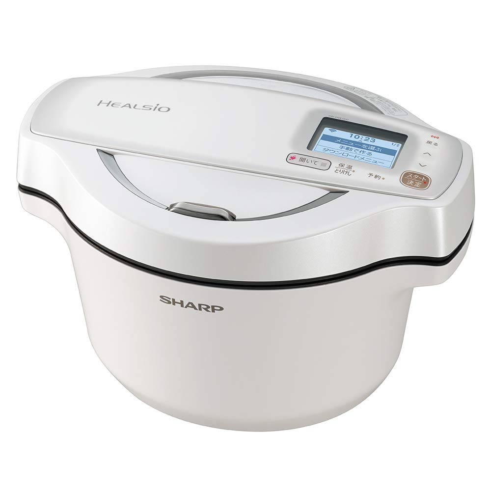 S SHARP Electrical Anhydrous Cooker HEALSIO Hot Cook KN-HW16D-W (WHITE)x3010;Japan Domestic Genuine Productsx3011;x3010;Ships from Japanx3011;