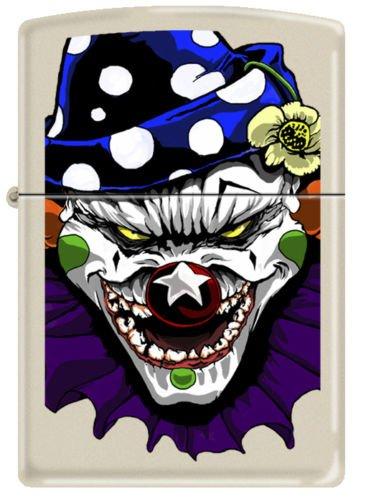 2013N ZIPPO CI 000011 - Evil Clown-Matte (Evil Clown Lighter)