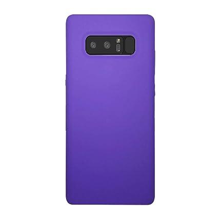 Amazon.com: Carcasa de silicona para Samsung Note 8