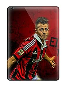 Tpu Case Cover For Ipad Air Strong Protect Case - Ac Milan Stephan El Shaarawy Design by icecream design