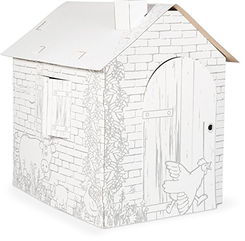 Small Foot 10015 Cardboard Play House by Small Foot by small foot company