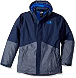 The North Face Big Boys' Boundary Triclimate Jacket - cosmic blue, xl/18-20