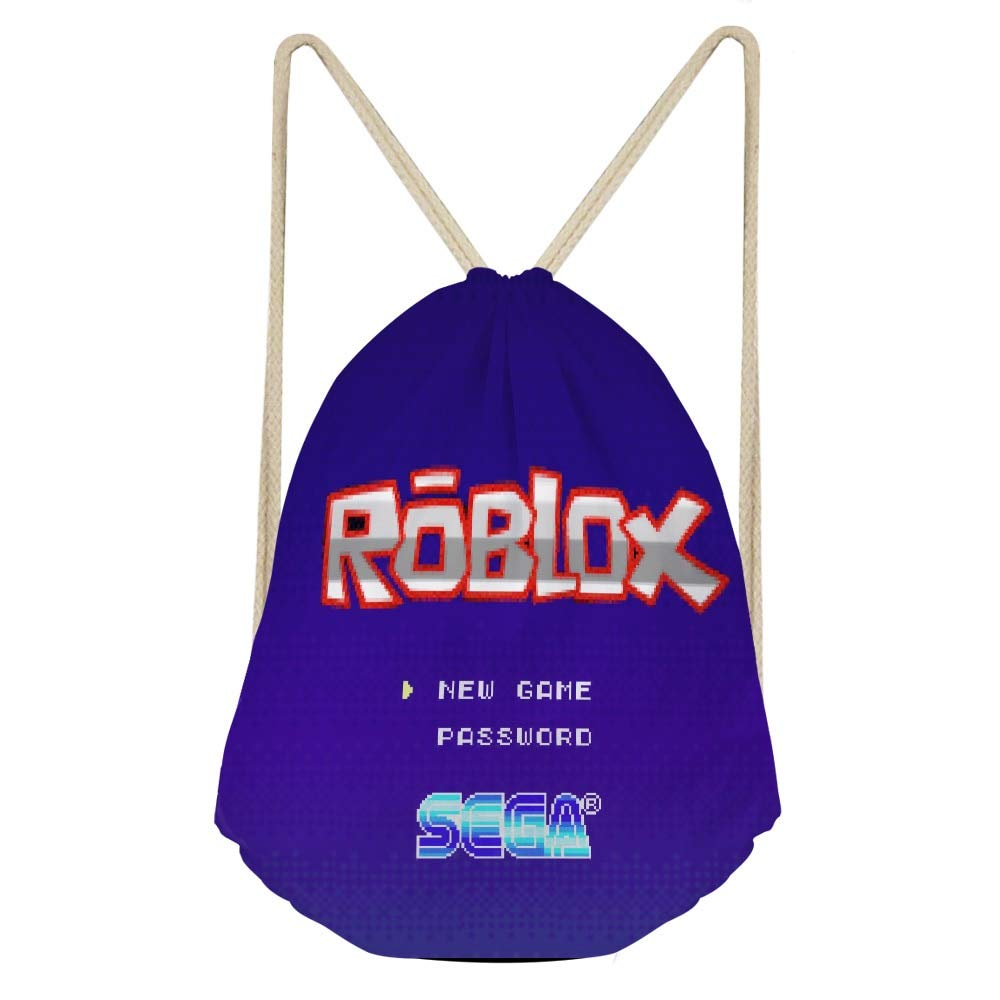 Amazon.com: Fashion Roblox Games Printed Women Backpack DailyPack Small School for Kids Girls Mochilas Escolar Drawstring Bags: Kitchen & Dining