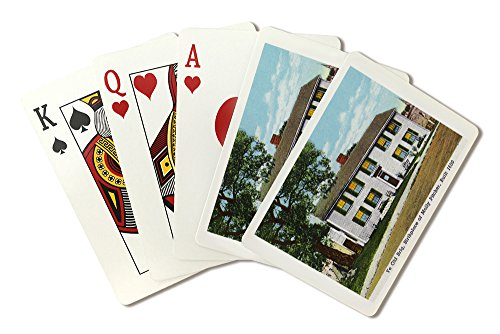 Marblehead, MA - Exterior View of Ye Old Brig, Molly Pitcher's Birthplace (Playing Card Deck - 52 Card Poker Size with Jokers)