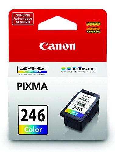 Canon CL-246 Color Ink Cartridge, Compatible MX492, MG3020,MG2920,MG2924, iP2820,MG2525 and MG2420 (8281B001)