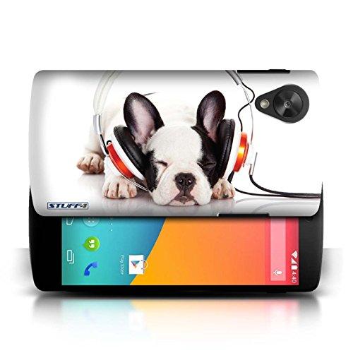 Etui / Coque pour LG Google Nexus 5/D821 / Chien somnolent conception / Collection de Animaux comiques