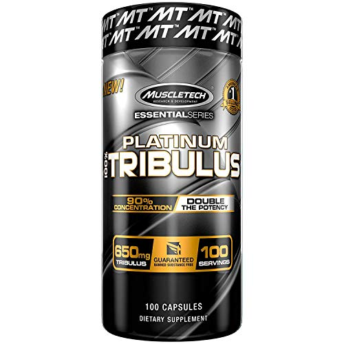 (MuscleTech Essential Series 100%, Tribulus, 100 Count)