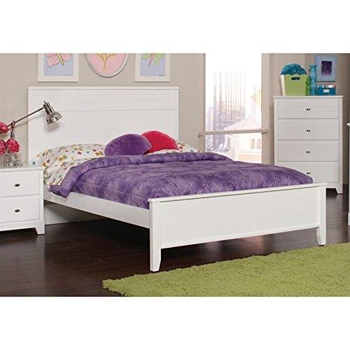 Coaster Ashton Full Panel Bed in White