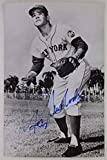 RON SWOBODA NEW YORK METS EXPOS YANKEES Autographed Signed 3x5 Postcard 16F