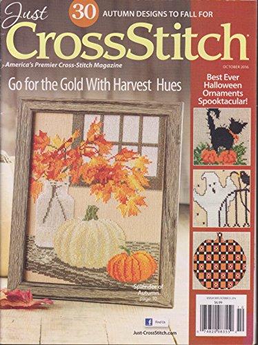 Just Cross Stitch Magazine October (Cross Stitch Magazine)