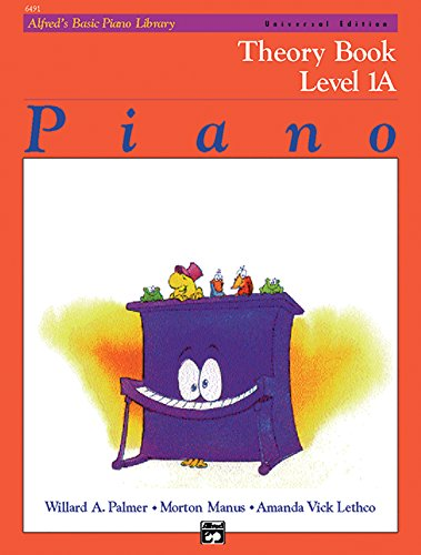 Alfreds Basic Book Piano Theory - Alfred's Basic Piano Course: Theory Book, Level 1A