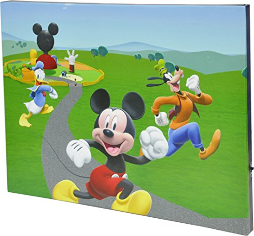 Disney Mickey Mouse Canvas LED Wall Art -