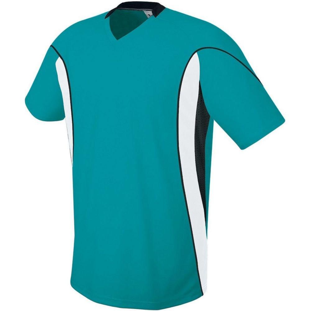 High Five Sportswear SHIRT メンズ B07C1D7B3D Small|Teal/White/Black Teal/White/Black Small