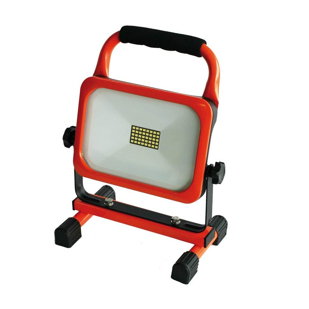HM M/üllner LED Strahler Slim 20W mit Akku L400-W20 Li-Ion Arbeitsleuchte