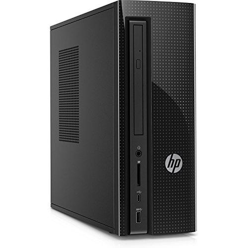 HP Slimline Desktop Computer, Intel Pentium J4205, 4GB RAM, 1TB hard drive, Windows 10 (270-a010, Black) by HP (Image #2)