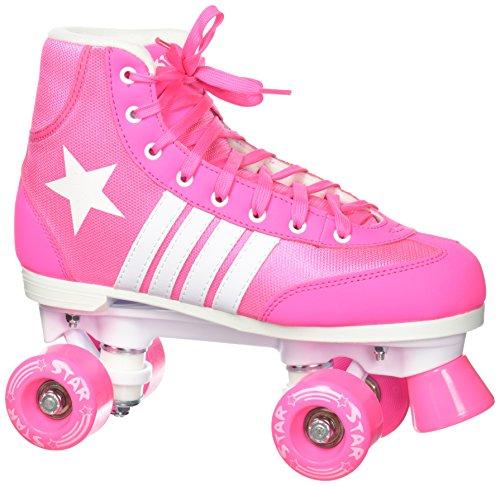 Epic Skates Star Carina Indoor/Outdoor High-Top Quad Roller Skates
