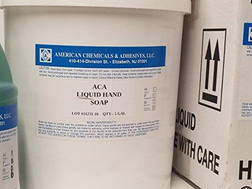 ACA Pink Hand Soap - 5 liquid gallon ()