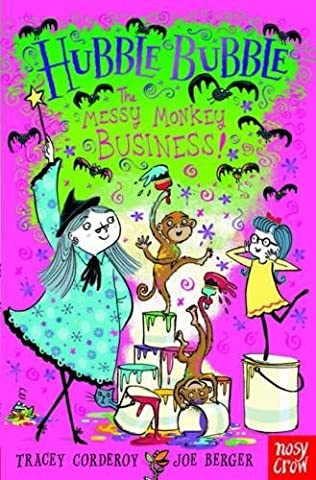 book cover of The Messy Monkey Business