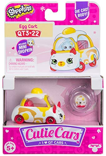 Egg Cart Die Cast Cutie Car #QT3-22