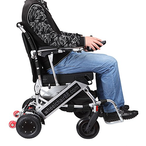 The lightest & most compact power chair in the world, Foldawheel PW-999UL at only 45 lbs (comes with...